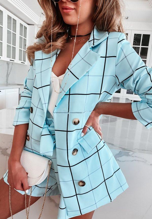 kraťasový kostým modrý