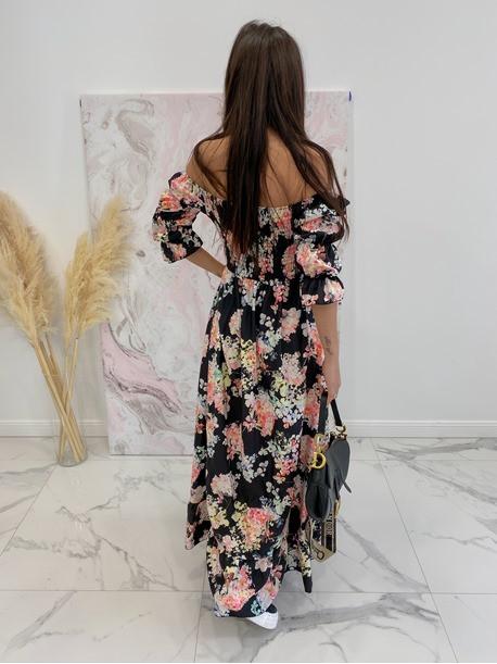 šaty lowera čierne