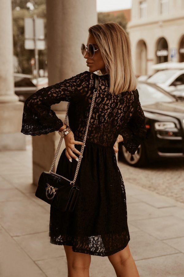 šaty moira čierne