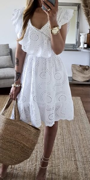 šaty roma biele