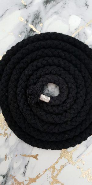 opasok čierny šnúrkovy
