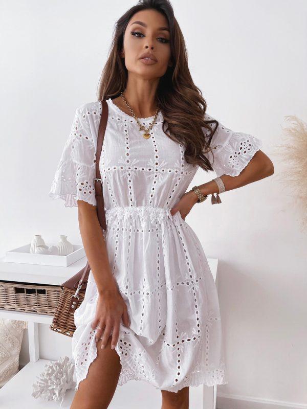 šaty rozita biele
