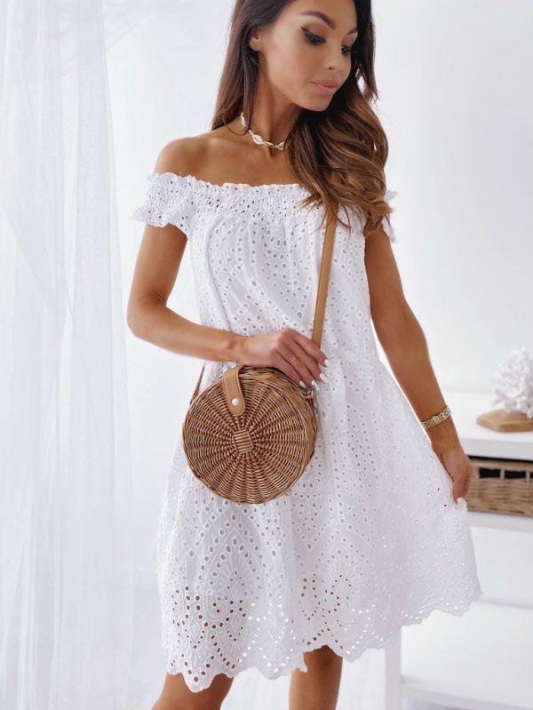 šaty stemi biele