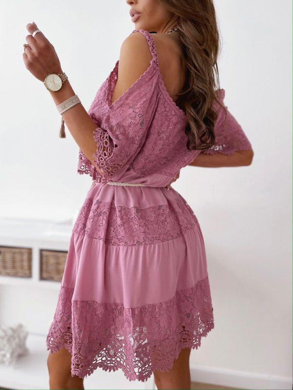 šaty valinka ružové