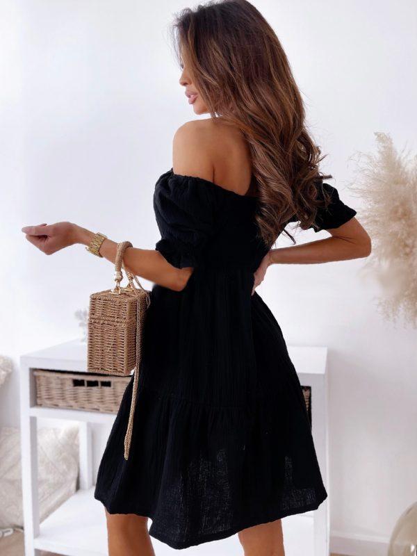 šaty passet čierne