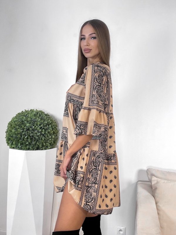 šaty marisa hnedé