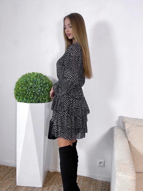 šaty sensation čierne