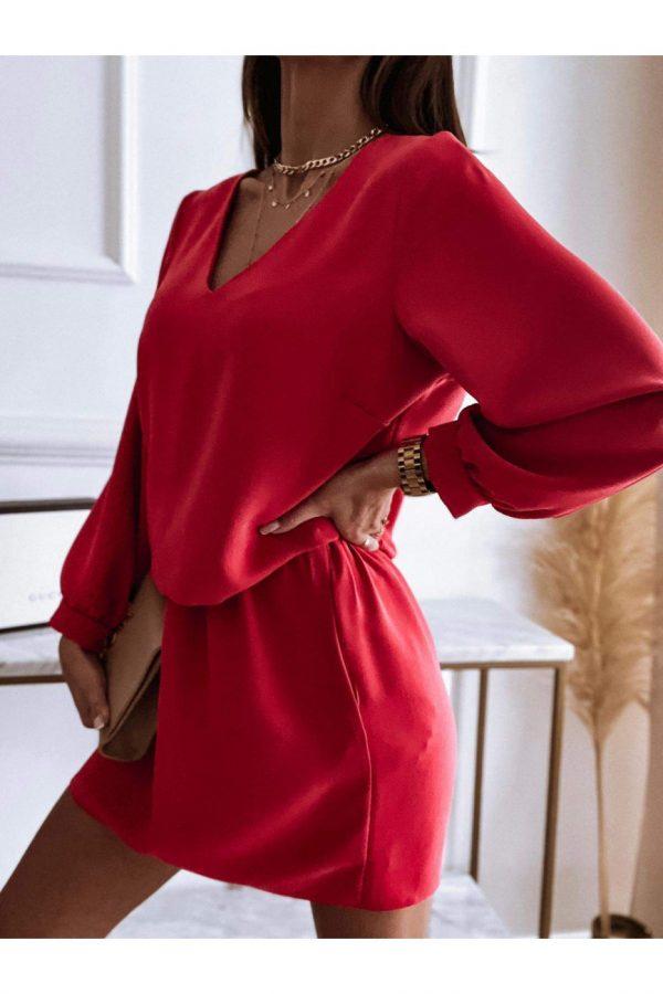 šaty wannda červené