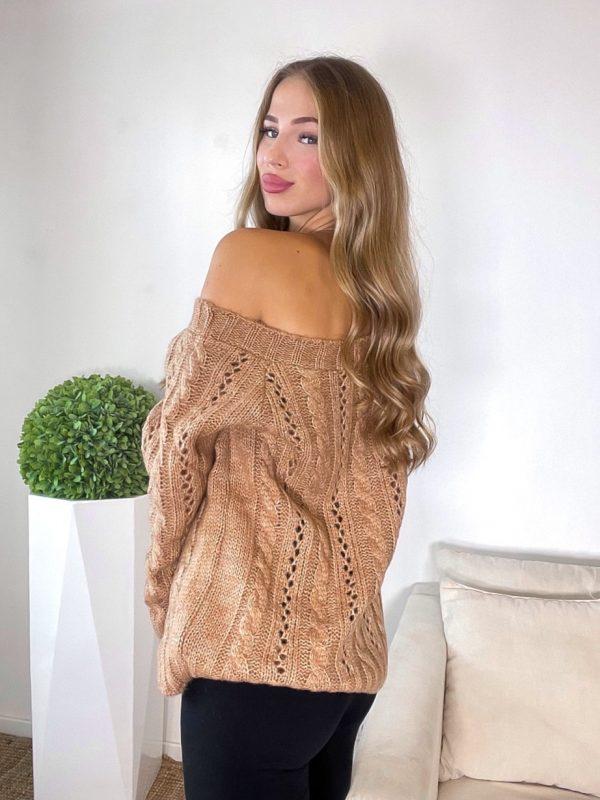sveter boname hnedý