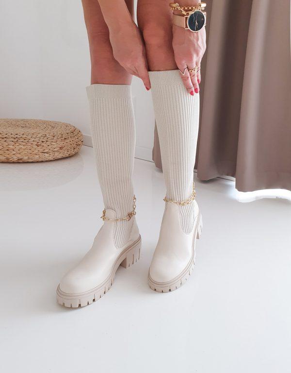 topánky calidia béžove