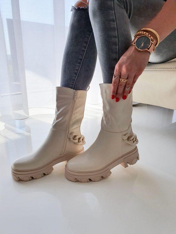 topánky canara béžove