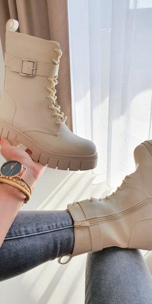 topánky flanea béžove