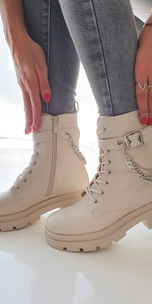 topánky iranita béžove