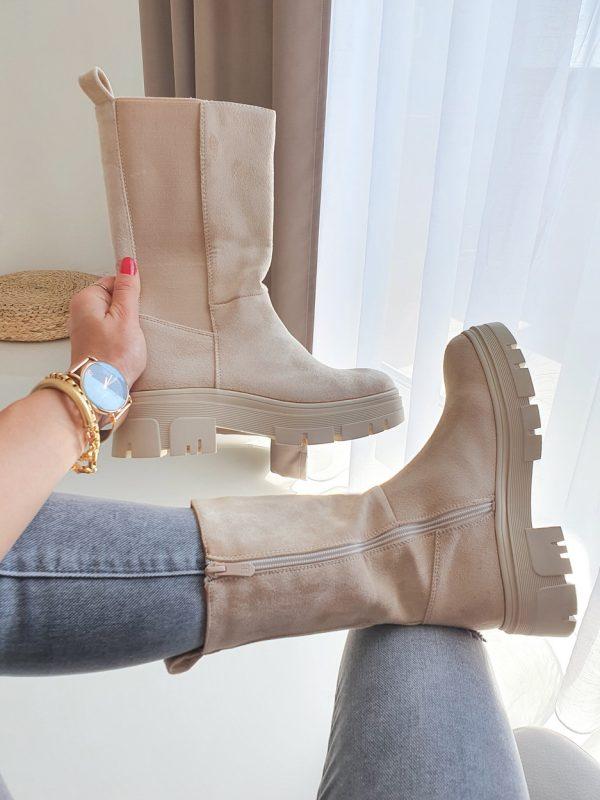 topánky mily béžove
