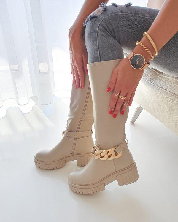 topánky jasnet béžové