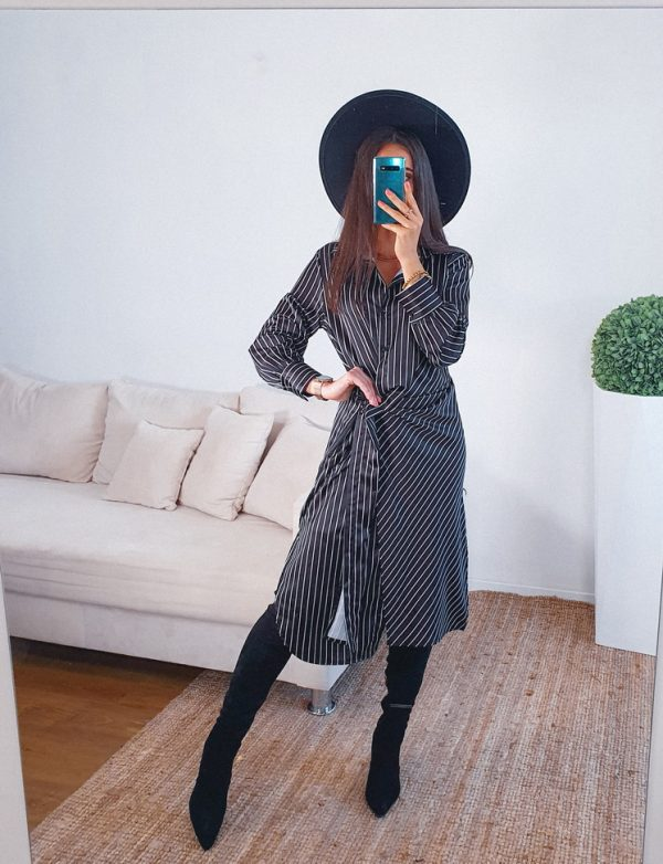 šaty giornia čierne