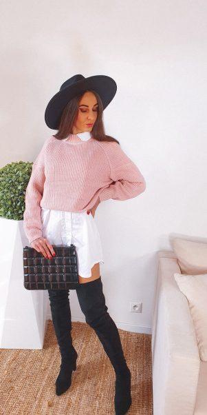 sveter ciao ružový